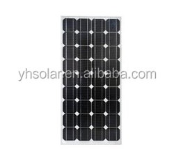 High efficient and high quality solar cell 140 watt mono solar panel