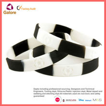 Mixed colors silicone giftaways bracelet silicone
