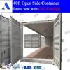Good price 20ft 40ft open side door container for sale in Shanghai, Tianjin, Qingdao