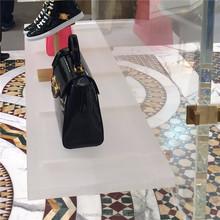 Fashion hanging bag display stand, tote bag display cabinet, leather bag display