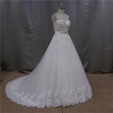 Finest amarrotado sash vestidos de noiva beading em mercado livre