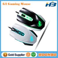 2015 New Gaming Mouse Adjustable DPI 7D LED Back Light USB Wired Game Mice For Laptops Desktop