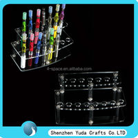 (Free shipping) wholesale e-cig display, shenzhen acrylic electronic cigarette display stand
