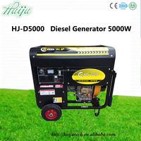 diesel generator fuel pump/portable 8000 watt diesel generator/8kw diesel generator