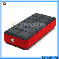 LCD /Dual USB 14000mah 12v emergency cable battery jumper power bank
