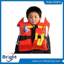 2015 new product kids foam life jackets vest