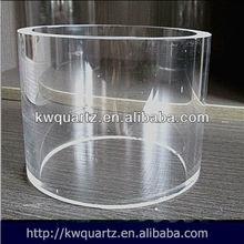 sílice fundida de cuarzo tubo de la vaina de china manfacture