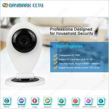 720p high image quality p2p wireless mini camera ip