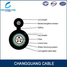 Free sample provided PE sheath GYXTC8S yofc fiber cable