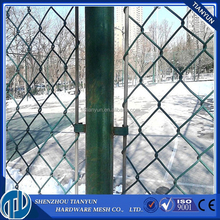 wholesale cheap plastic galvanized used chain link fence panels factory price for sale