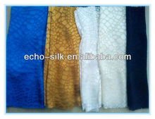 silk rayon blend thai fabric with cobblestone