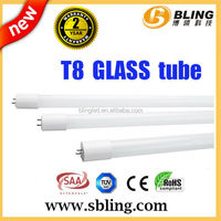 2015 bling 90cm glass tube lighting glass led tube t8 with ce rohs
