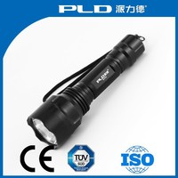 High Power rechargeable torchlight, maglite Led flashlight torch light tactical flashlight,free fleshlight