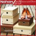 papel naham llanura vacía tacón alto caja de zapatos de diseño de envases