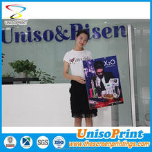 Screenprinting with UV stable ink Plastic sheet PP plastic sheet with sealing edges round