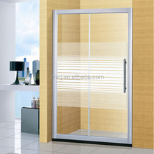 one fixed one sliding extend shower door adjustable (A-899B)