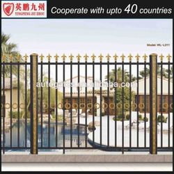 Temporary fence panels for child safety pool Aluminum Fence