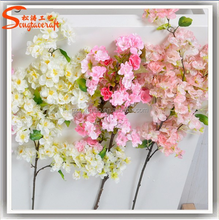 GUANGZHOU China wholesale artificial cherry blossom branch fake cherry blossom tree branch
