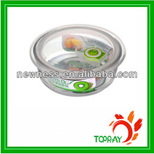 2014High quality glass vacuum food storage container