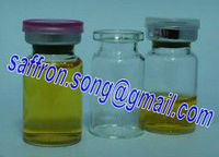 5ml Cosmetic ampoules glass vial with stopper and cap