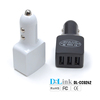 Intelligent IC identify Technology USB Car Charger