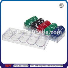 Acrylic casino taken wholesales display tray with cover