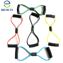 2015 colorful yoga high- elastic fitness band for back pain relief