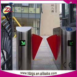 Hot Sale Access Control Smart Flap Barrier Gate for stainless steel main gate design for homes