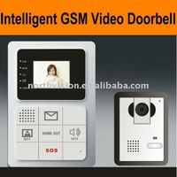 Newest peephole camera with big size LCD screen, 300,000 pixels camera, speaker and microphone