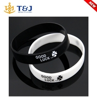 Mix color cheapest personalized silicone bracelets