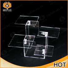 fashion made 2 tier acrylic shoes display stands,basketball display stand,shoes display stnad