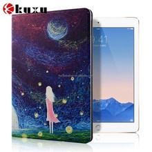 High quality corlorful canva flip case for ipad air ipad 6