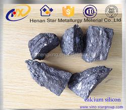 Suppily china ferro alloy lump calcium silicon 1-3mm