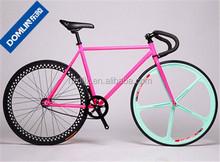 factory price 700C steel frame street bike single speed road bike