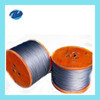 electro and hot dipped galvanized steel wire rope factory price