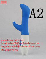 2015 Newest 6 Inch Colorful 7 Function Silicone G-spot Vibrator, Clit Vibrator