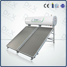 100 200 300 Liters Compact Flat Panels Pressured Solar Hot Water Heater for sale
