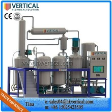 VTS-PP Oil purifier machine Essential oil purifier Used cooking oil purifier