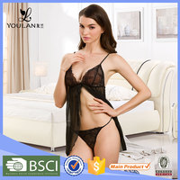 Comfortable High Quality Underwear cupless sexy adult girls sexy transparent lingerie