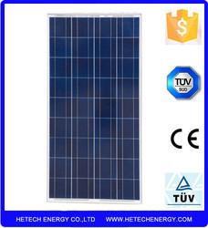 poly solar panel in china Best price per watt solar panels 130w solar panel price india