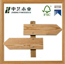 pine craft factory wholesale hanging handmade vintage wooden signs for home decorations