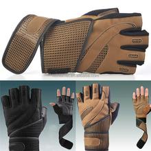 2015 venta caliente custom gimnasio guantes atlético obras levantamiento de pesas guantes, sin dedos guantes de entrenamiento