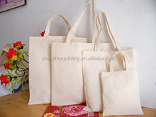 Green Fashion Cheap organic make shopping bag cotton