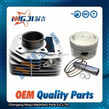 Haojue EN125 Motorcycle Cylinder kit High Quality Motorcycle Parts Motorcycle Engine Parts Block 57mm diameter