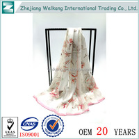 Buy wholesale direct from china lady neck silk scarf