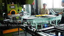 AMEX CHINA-Double Locking line for steel drum production line or barrel manufacturing equipment 55 gallon UN STANDARD