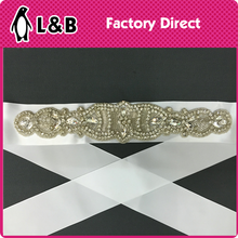 garment accessories supplier beaded wedding belt
