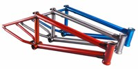 Clip3 Cromoly 4130 Butted BMX Trans Orange Frame bmx racing bikes