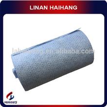China fabricante PP el modelo de puntos sopladas en fusión con la seda toallitas de limpieza industrial