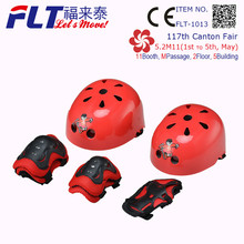 FLT-1013 high quality kids scooter part helmet and pad for wholesale
